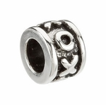 8mm Kera™ Hugs & Kisses Bead
