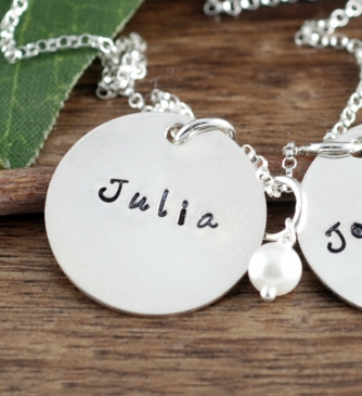 "Add charm 3 for ""Double Charms Name Necklace in Silver"""