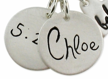 Add Silver Charm 5 for Bebe Heart Necklace