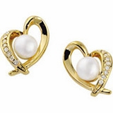 Akoya Cultured Pearl Earrings