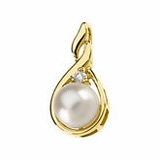 Akoya Cultured Pearl Neckwear Pendants