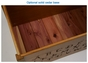 Alphabet Wooden Toy Chest - click to Enlarge