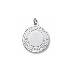 Anniversary Disc Charm by Forever Charms - Personalized