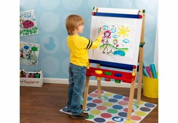 Artist Easel with Paper