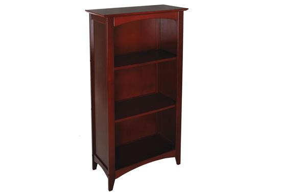 products stain furniture main cherry hardword rich brown in bookshelf bookcase with a ladder upholstered ohio x maple
