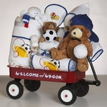 Baby Athlete Baby Gift Basket - Boy