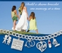 Baby Carriage Charm with Moving Cover by Forever Charms - click to Enlarge