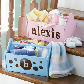 Baby's Essentials Handy Caddy - Personalized
