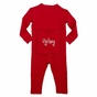 """Baby's First Christmas"" Long Johns - click to Enlarge"