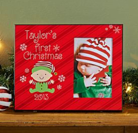 Babys First Christmas Picture Frame Bliss Living