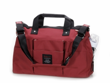 Babymel Tool Bag Diaper Bag in Red
