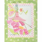 Ballerina Butterfly - Flower Ballet Canvas Wall Art