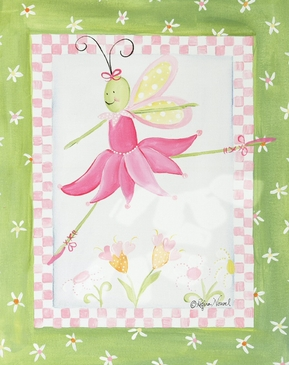 Ballerina Butterfly - Prima Ballerina Canvas Wall Art