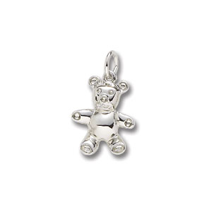 Bear Teddy Charm by Forever Charms