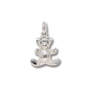 Bear Teddy Small Charm by Forever Charms