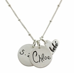 Bebe Heart Necklace