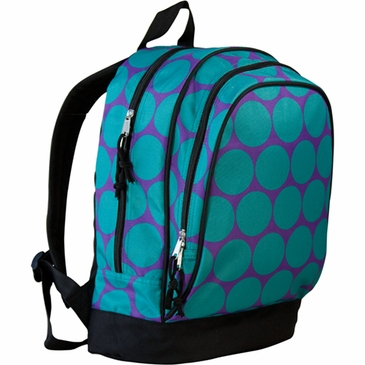 Big Dots Aqua Kids Backpack