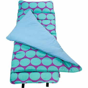 Big Dots Aqua Kids Nap Mat