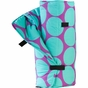 Big Dots Aqua Kids Nap Mat - click to Enlarge