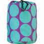 Big Dots Aqua Kids Sleeping Bag - click to Enlarge
