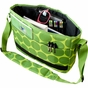 Big Dots Green Kickstart Kids Messenger Bag - click to Enlarge