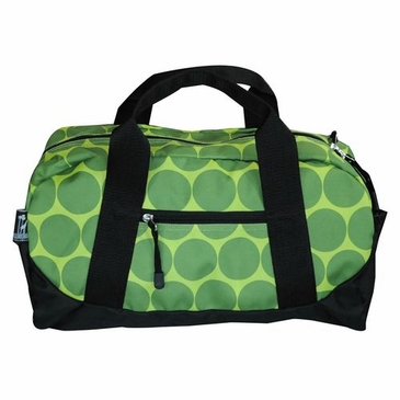 Big Dots Green Kids Duffel Bag