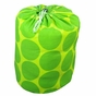 Big Dots Green Kids Sleeping Bag - click to Enlarge