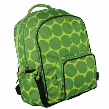 Big Dots Green Macropak Kids Backpack