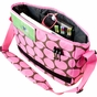 Big Dots Pink Kickstart Kids Messenger Bag - click to Enlarge