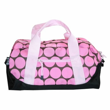 Big Dots Pink Kids Duffel Bag
