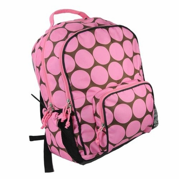 Big Dots Pink Macropak Kids Backpack