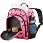 Big Dots Pink Pack 'n Snack Kids Backpack - click to Enlarge