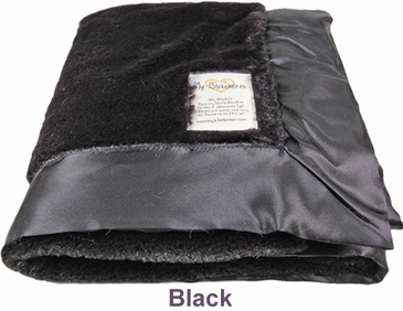Black Luxe Blanket by My Blankee