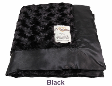 Black Snail Blanket by My Blankee