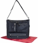 Black Twill Iris Baby Bag by Amy Michelle - click to Enlarge