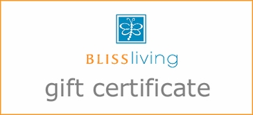 Bliss Living Gift Certificate for $20