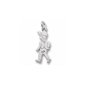 Boy Figure Charm by Forever Charms - Personalized