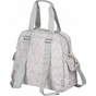 Brittany Backpack Blue Filagree Diaper Bag by Bumble Bags - click to Enlarge