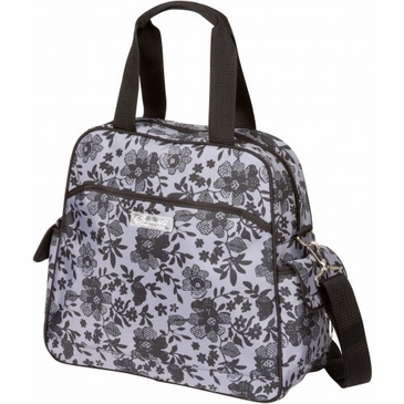 Brittany Backpack Lace Floral Diaper Bag by Bumble Bags