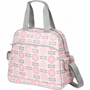 Brittany Backpack Modern Floral Diaper Bag by Bumble Bags