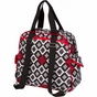Brittany Backpack Royal Ruby Montage Diaper Bag by Bumble Bags - click to Enlarge