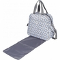 Brittany Backpack Sky Blue Montage Diaper Bag by Bumble Bags - click to Enlarge