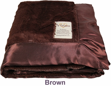 Brown Luxe Blanket by My Blankee