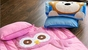 Owl or Monkey Personalized Kids Nap Mats - click to Enlarge