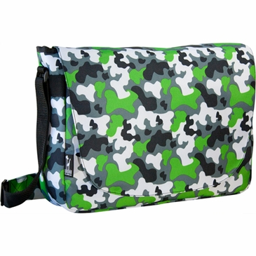 Camo Kids Laptop Messenger Bag