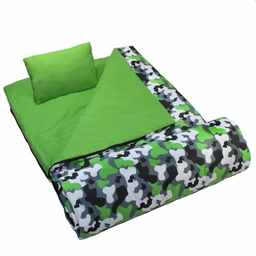 Camo Kids Sleeping Bag
