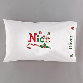 Candy Cane Pillowcase