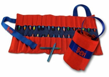 Carry Me Crayon Keeper Red/Blue
