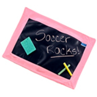Chalk Talk Chalkboard Placemat Light Pink