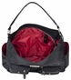 Charcoal Floral Lotus Baby Bag by Amy Michelle - click to Enlarge